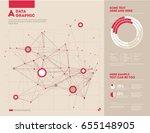 futuristic infographic....   Shutterstock .eps vector #655148905