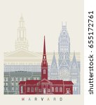 Harvard Skyline Poster In...