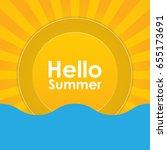 summer holiday abstract...   Shutterstock .eps vector #655173691
