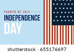 banner of independence day... | Shutterstock .eps vector #655176697
