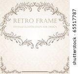 vertical vintage background for ...   Shutterstock .eps vector #65517787