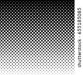 monochrome halftone abstract... | Shutterstock .eps vector #655185085