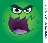 vector illustration of a funny... | Shutterstock .eps vector #655240819