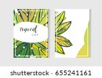 hand drawn vector abstract... | Shutterstock .eps vector #655241161