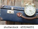 last minute travel concept with ... | Shutterstock . vector #655246051