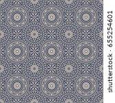 seamless background  eastern... | Shutterstock .eps vector #655254601