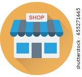 shop vector icon   Shutterstock .eps vector #655271665