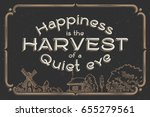 poster with quote phrase ... | Shutterstock .eps vector #655279561
