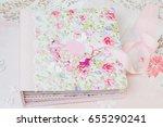 homemade album   folder.... | Shutterstock . vector #655290241