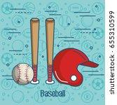 sports related design | Shutterstock .eps vector #655310599