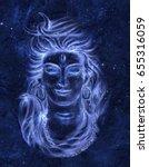 transcendental spiritual image... | Shutterstock . vector #655316059