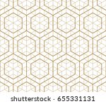 japanese gold background and...   Shutterstock .eps vector #655331131