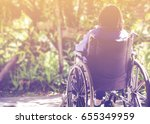 close up of a lady patient ...   Shutterstock . vector #655349959