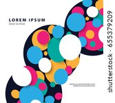 modern graphic design elements. ... | Shutterstock .eps vector #655379209