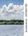 Small photo of danube river landscape