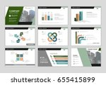 infographic brochure elements... | Shutterstock .eps vector #655415899