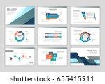 infographic brochure elements... | Shutterstock .eps vector #655415911