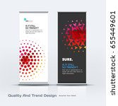 abstract business vector set of ... | Shutterstock .eps vector #655449601