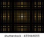 yellow 3d rectangle background | Shutterstock .eps vector #655464055