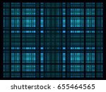 design blue rectangle background | Shutterstock .eps vector #655464565