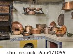 copper and clay kitchenware