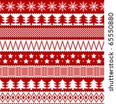 christmas seamless texture in... | Shutterstock .eps vector #65550880
