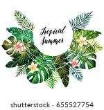 watercolor illustration.... | Shutterstock . vector #655527754