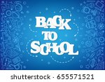 Back To School Banner With...