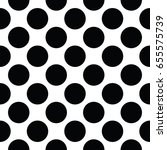 abstract fashion black and... | Shutterstock .eps vector #655575739