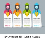 business infographic design | Shutterstock .eps vector #655576081