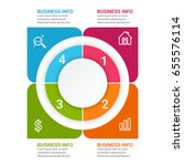 business infographic design   Shutterstock .eps vector #655576114