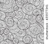 seamless wave pattern for... | Shutterstock .eps vector #655577341
