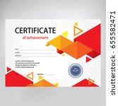 design certificate  diploma ...   Shutterstock .eps vector #655582471