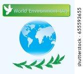 World Environment Day Blue...