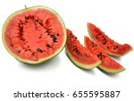 watermelon | Shutterstock . vector #655595887