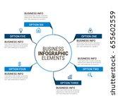 popular infographics elements | Shutterstock .eps vector #655602559
