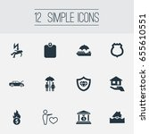 vector illustration set of... | Shutterstock .eps vector #655610551