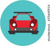 speed car | Shutterstock .eps vector #655640914