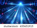 abstract technology concept... | Shutterstock .eps vector #655651915