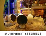 cruise ship relaxation space | Shutterstock . vector #655655815