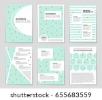 abstract vector layout... | Shutterstock .eps vector #655683559