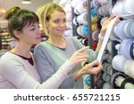 length of the ribbon | Shutterstock . vector #655721215