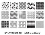 abstract seamless pattern... | Shutterstock .eps vector #655723639