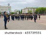 russia. belgorod  may 9  2017 ... | Shutterstock . vector #655739551