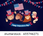 4 july usa independence day... | Shutterstock .eps vector #655746271