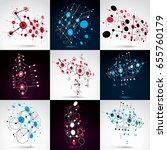 set of vector bauhaus abstract... | Shutterstock .eps vector #655760179