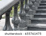 granite ladder with granite... | Shutterstock . vector #655761475