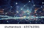 modern technologies for... | Shutterstock . vector #655763581