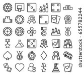 win icons set. set of 36 win... | Shutterstock .eps vector #655782244