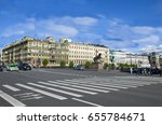 architecture the city of st.... | Shutterstock . vector #655784671